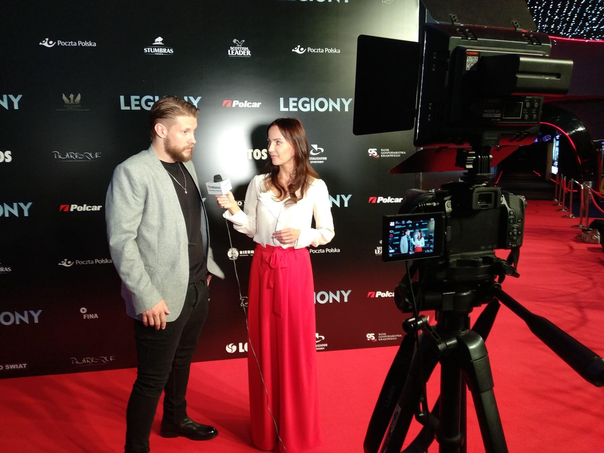 Premiera filmu Legiony